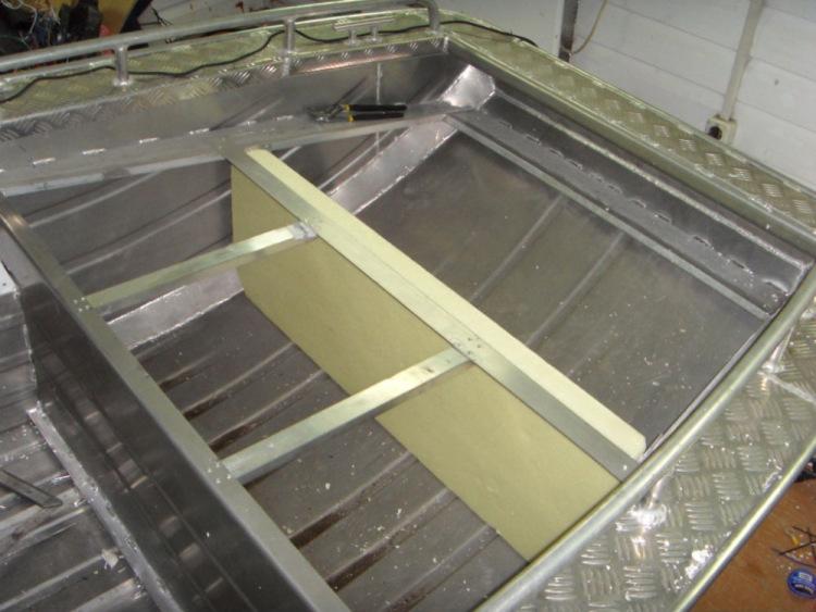 самостоятельная постройка лодок из алюминия