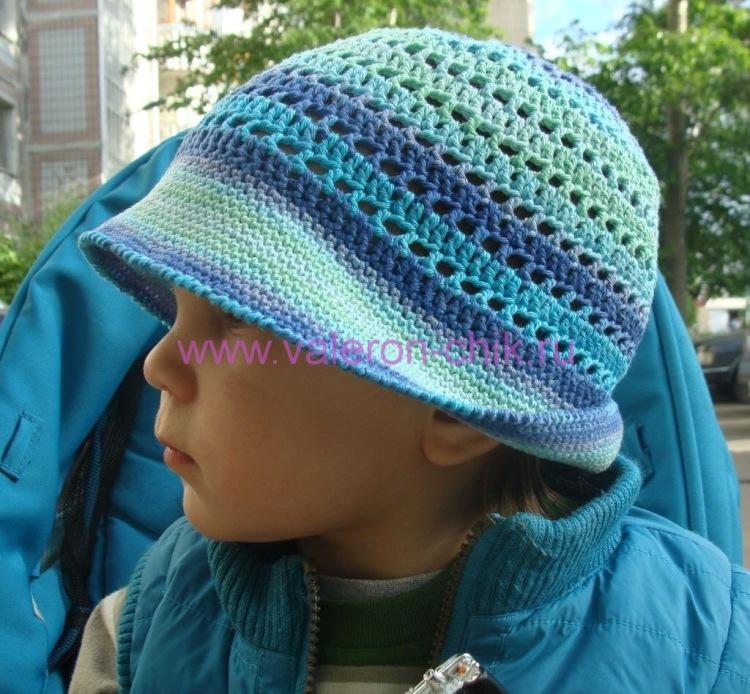 Вязание панамок для детей от 0-3 лет спицами