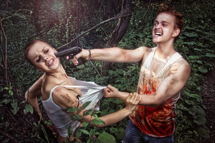 обработка фото в стиле хэллоуин онлайн