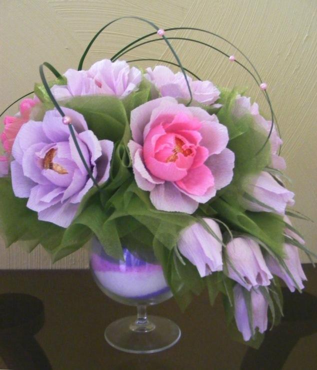 Розы из конфет своими руками мастер класс букет 60