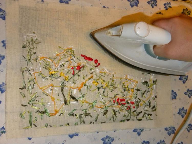 Как подготовить вышивку к оформлению в рамку