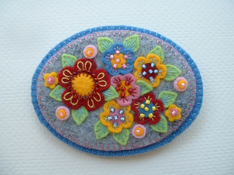 гребень с цветами фото
