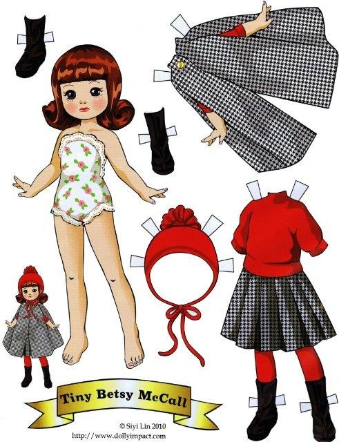 Как сделать куклу из бумаги с одеждой своими руками