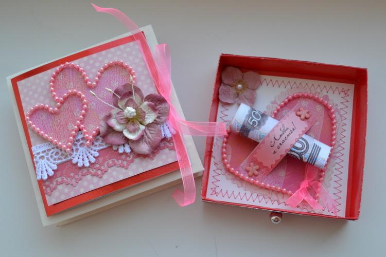 Сделать коробочку из открыток своими руками