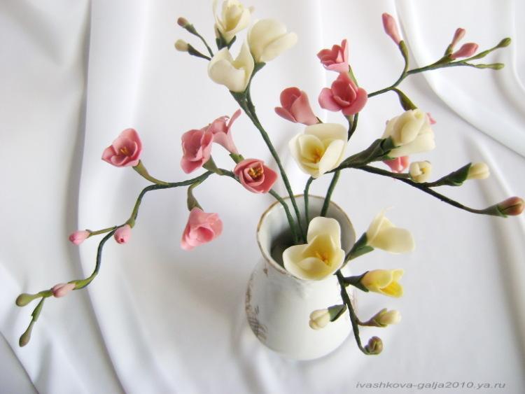 Gallery.ru / Фото #18 - Цветы из полимерной глины - galjushka2