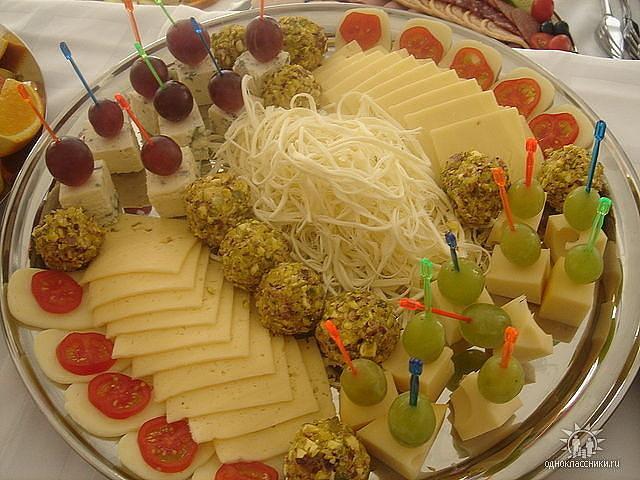 Праздничное оформление блюд в домашних условиях