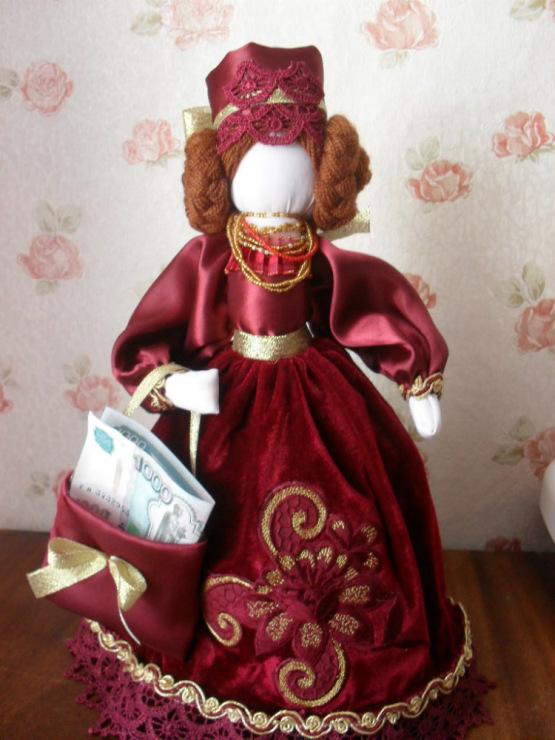 Мастер класс кукла оберег успешница