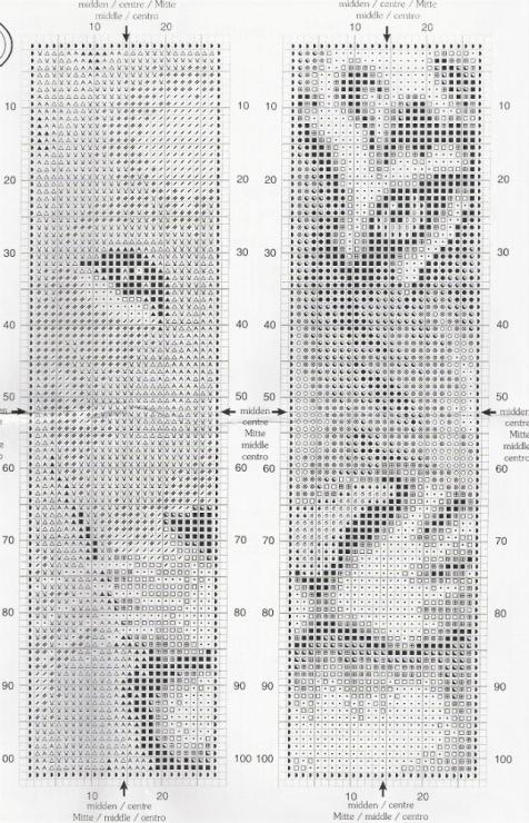 Вышивка закладок схемы 311