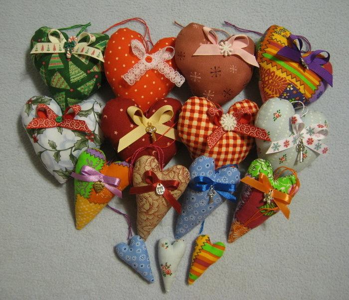 Сувениры своими руками из ткани фото