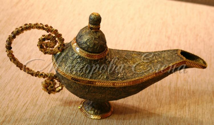 Поделка лампа алладина своими