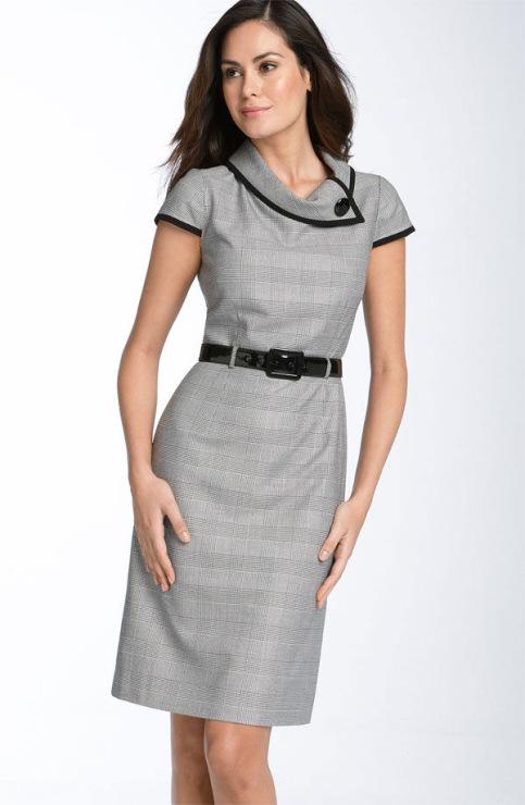 Фасон платья для работы 122