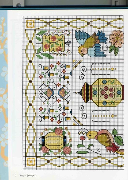 Схемы вышивки крестом лесли тиэри 95