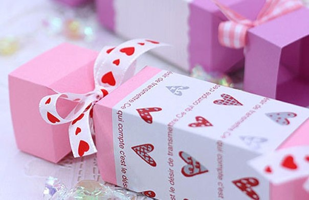 Подарочная упаковка для конфет. своими руками