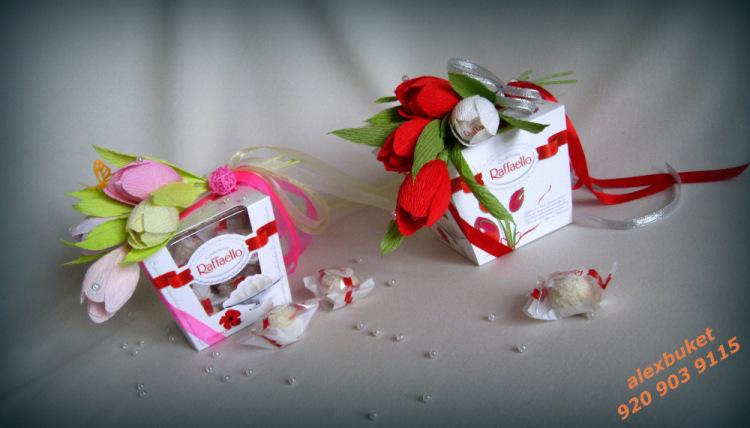 Оформить коробку для конфет своими руками