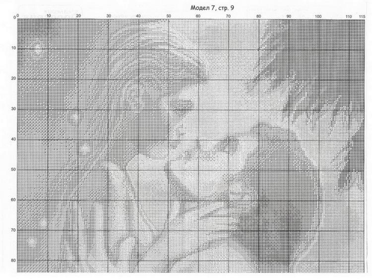 Вышивка романтика схема 12
