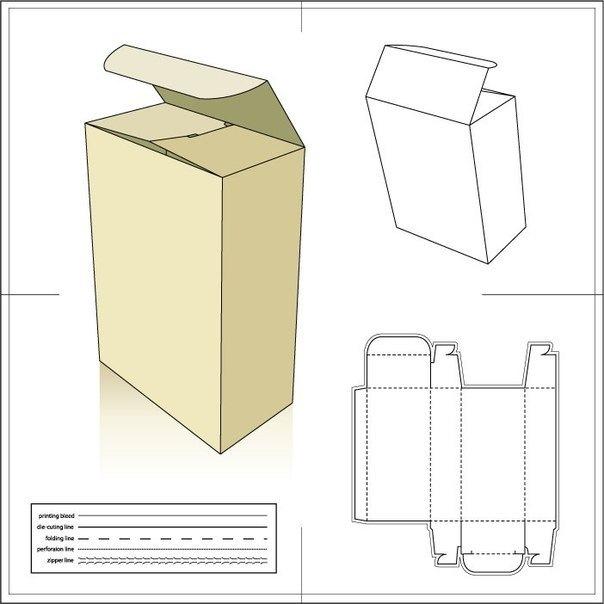 Как сделать высокие коробочки