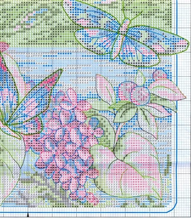 Бабочки - схемы