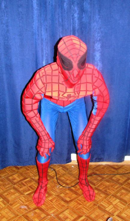Костюм человека паук сшить