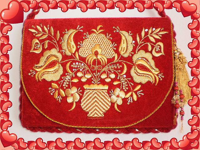 Вышивка татарского орнамента