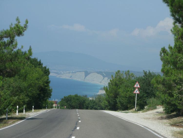 На новороссийск дорога
