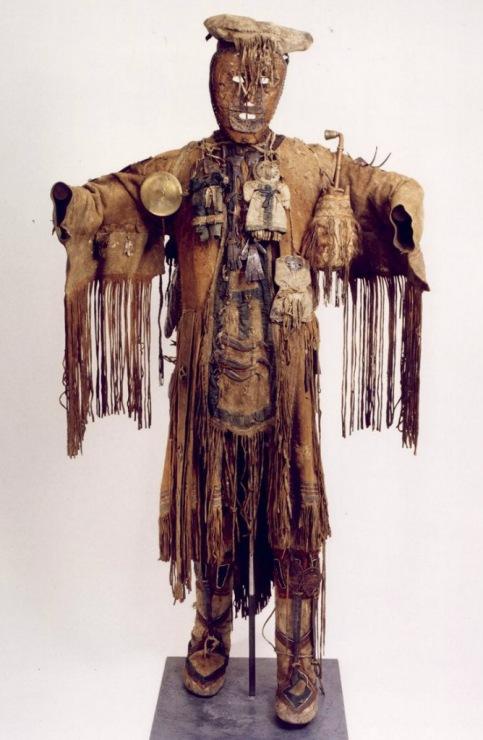 Своими руками костюм-шаман 95