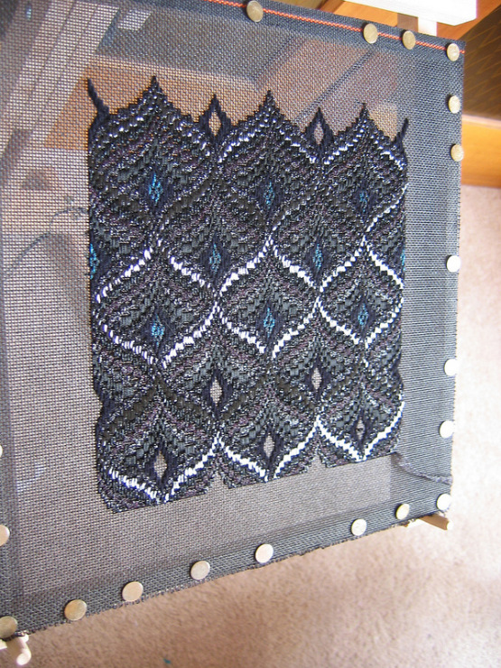 Вышивка барджелло изделия 85