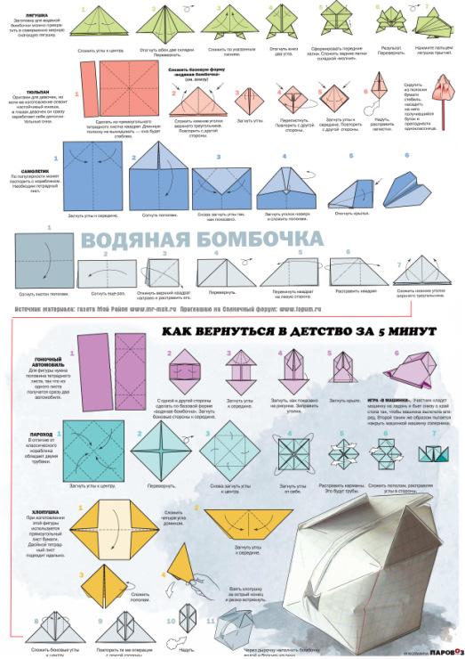 Как сделать бомбочку из бумаги и