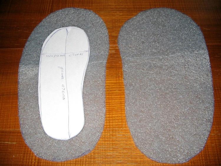 Валяние тапочек шерсть для валяния