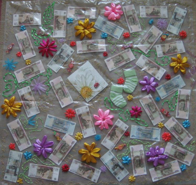 Оригинальные подарки на свадьбу с деньгами своими руками