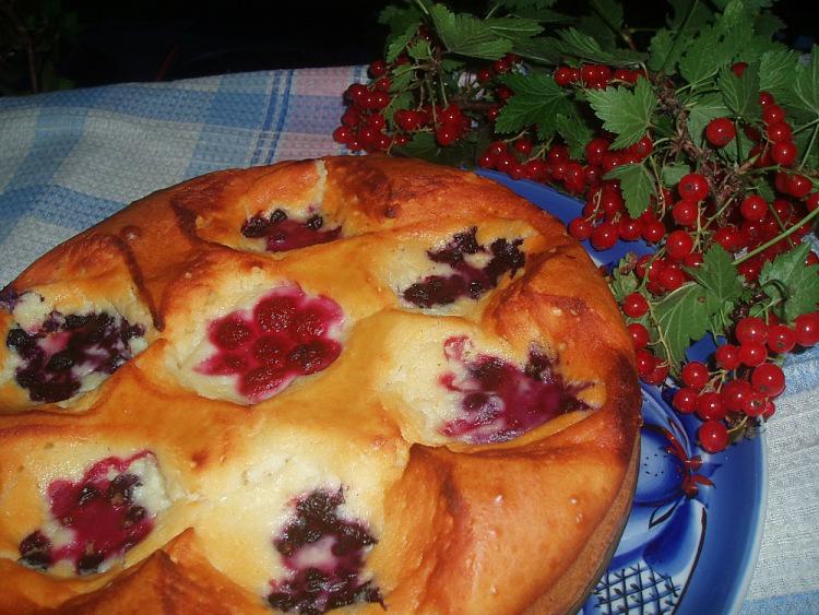 Пирог с земляничным вареньем в духовке рецепт пошагово