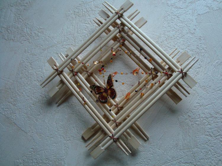 Поделки из китайских палочек своими руками фото